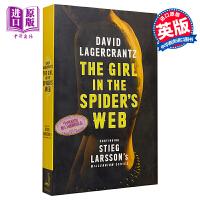 【中商原版】蜘蛛网里的女孩 英文原版 THE GIRL IN THE SPIDER'S WEB David Lagerc