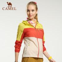 【范冰冰同款】camel骆驼户外皮肤衣 春夏男女款 防风透气 日常运动皮肤风衣