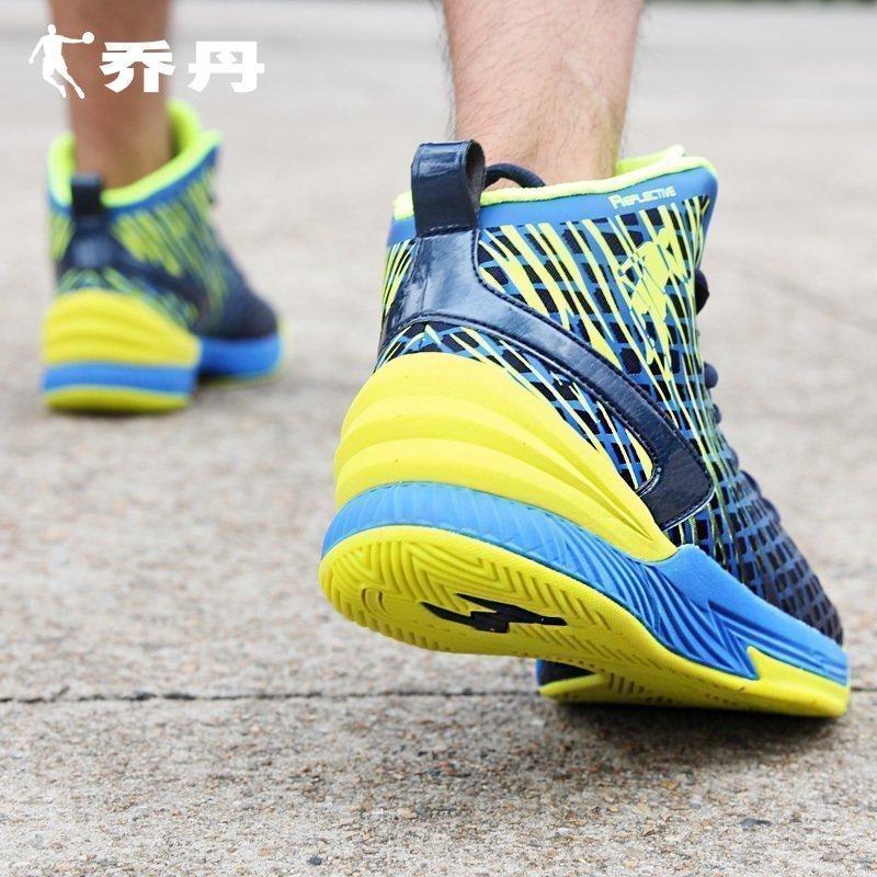 乔丹篮球鞋男高帮耐磨AJ战靴透气防滑球鞋2017秋季新款运动鞋男鞋XM4560103