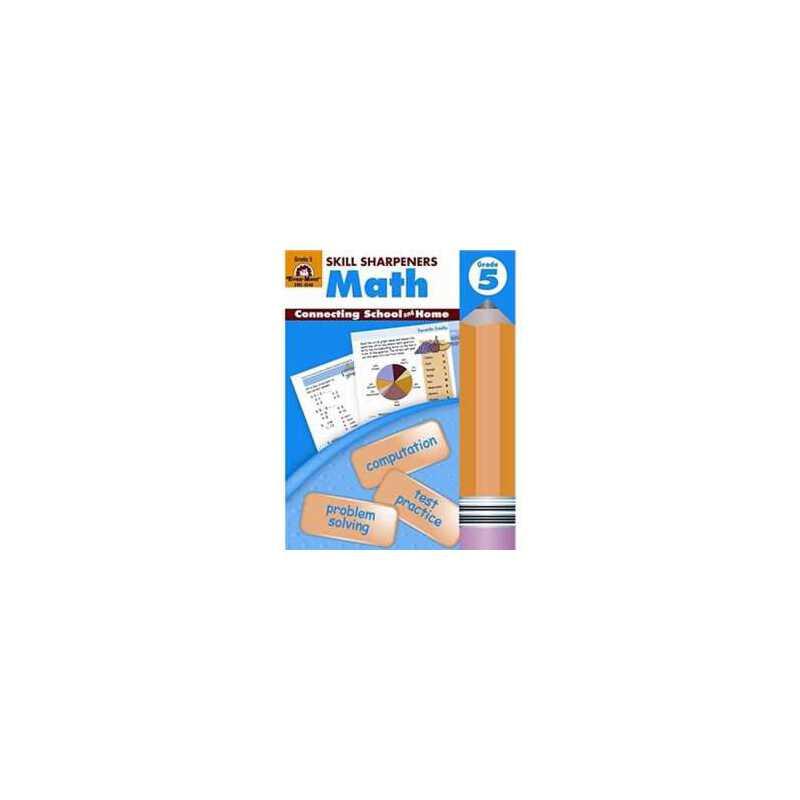 Skill Sharpeners Math, Grade 5 2147483647