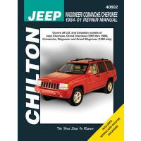 预订 Jeep Wagoneer/Comanche/Cherokee 1984-01 Repair Manual [I