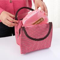 保温饭盒袋子便当包手提包防水帆布保温袋大号铝箔加厚午餐包