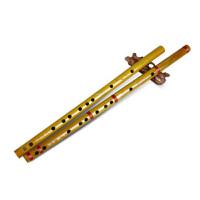 玉屏箫笛 初级入门笛子 山竹笛 横笛 曲笛 笛子 乐器 不缠线款 赠笛膜 2152