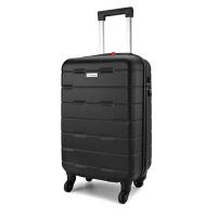 外交官diplomat万向轮拉杆箱行李箱YH-6212 黑色 20英寸
