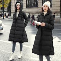 孕后期时尚冬装棉袄大衣加厚秋冬款宽松外套潮冬季孕妇羽绒棉衣