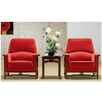 鑫宣美XM-SF112接待沙发会议沙发布艺沙发单人位