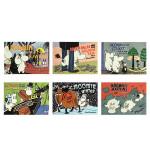 【顺丰包邮】英文原版 小肥肥姆明一族7册合售 Moomin and the Martians 姆明/穆明和火星人/on