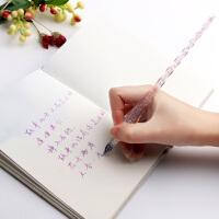 绍泽文化-手工玻璃笔-初雪系列-粉色 BLB-23423 当当自营
