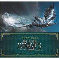 英文原版 The Art of the Film: Fantastic Beasts and Where to Fin