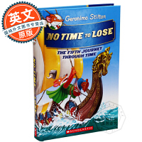 老鼠记者 英文原版童书 Geronimo Stilton Journey Through Time 5: No Tim