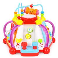 儿童学习桌功能游戏桌宝宝1-2玩具
