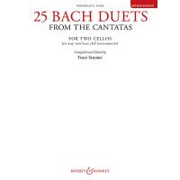 【预订】25 Bach Duets from the Cantatas: Two Cellos Performance