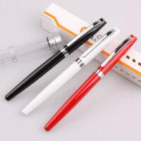 毕加索旗下 oaso优尚 s106智远系列财务笔 特细笔 钢笔学生 黑/白/红 3色