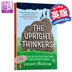 【中商原版】直立行走的思想家 英文原版 科普读物 Upright Thinkers 时间简史普及版 大设计合著者 列纳