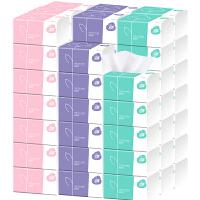 【42包/20包】4层抽纸整箱60抽餐巾纸巾宿舍用卫生纸家用厕纸巾小包面巾纸婴儿可用