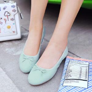 O'SHELL欧希尔新品057-1611韩版平底鞋女士豆豆鞋
