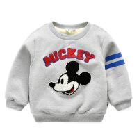 卫衣加厚童装儿童冬装上衣保暖衣服宝宝外套AL10WY5026