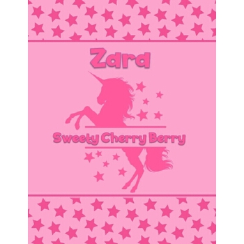 预订 Zara Sweety Cherry Berry: Personalized Draw & Write Book with Her Unicor [ISBN:9781710077391] 美国发货无法退货 约五到八周到货