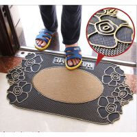 欧式橡胶地毯入户进门玄关防滑地垫门垫厨房浴室门口半圆脚垫