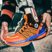 有摩擦声悟空篮球鞋2021夏季新款透气篮球鞋龙珠超联名款百搭球鞋