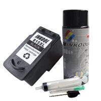 INKOOL 玩转佳能PG-815墨盒+90ML专业墨水+工具 CANON MP498墨盒