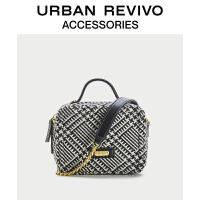 URBAN REVIVO2021夏季新品女士配件手提斜跨两用包AY04TB1N2002