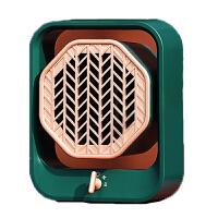 美的(Midea)取暖器 HFX05UGN 暖风机桌面家用节能小型太阳办公宿舍浴室速热电暖气 小巧便捷 复古配色