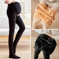 孕妇袜连裤袜丝袜光腿神器踩脚打底裤秋冬款外穿加绒加厚冬装