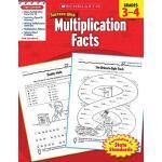 【预订】Scholastic Success with Multiplication Facts, Grades 3-
