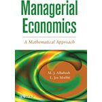 预订 Managerial Economics: A Mathematical Approach [ISBN:9781