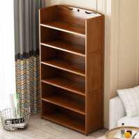 ��木��架置物架落地�和��易��柜子省空�g�W生桌上多�邮占{架家用