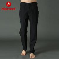 Marmot/土拨鼠户外运动男士休闲弹力速干长裤