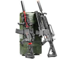 可发射男儿童玩具枪电动连发*M4绝地模型求生M416抢98k狙击