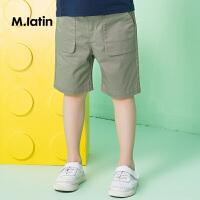 【秒杀价:49元】马拉丁童装男童中裤夏装夏款新款口袋设计休闲宽松运动裤子薄