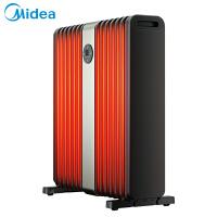 美的(Midea)取暖器家用电油汀14片电暖气卧室电热暖风机省电暖器片烤火炉室 HYX22TR