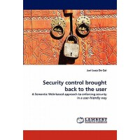 预订 Security Control Brought Back to the User [ISBN:97838383