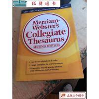 【二手旧书8成新】Merriam-Webster's Collegiate Thesaurus 韦氏