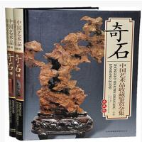 中国艺术品收藏鉴赏全集-奇石 全2册 铜版纸彩印