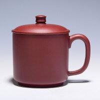 【助理工艺美术师】 应军良 《紫砂杯》原矿紫茄泥 GJ022