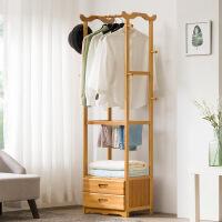 幽咸家居 衣帽架落地简易衣架子省空间多功能小卧室创意收纳衣服架 简约现代