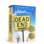 【发顺丰】英文原版 诺维特小镇的尽头 Dead End in Norvelt 2012年纽伯瑞金奖作品 儿童文学历史小