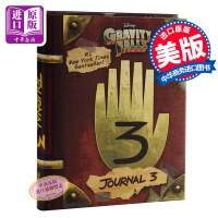 【中商原版】怪诞小镇:迪普日记 英文原版 Gravity Falls: Journal 3  Rob Renzetti Disney Press 儿童文学