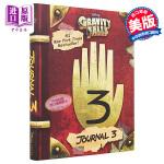 【中商原版】怪诞小镇:迪普日记 英文原版 Gravity Falls: Journal 3 Rob Renzetti