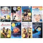 【顺丰包邮】Newbery Award 纽伯瑞获奖小说8册盒装 英文原版进口 儿童青少年文学小说 Graveyard