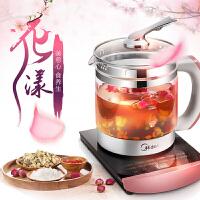 美的(Midea)养生壶MK-GE1701多功能 煎药壶煮茶花茶壶WGE1701b电水壶D