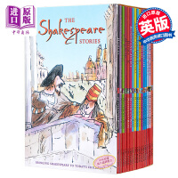 【中商原版】莎士比亚全集16册套装 英文原版 Shakespeare Childrens Stories 16 Books Collection Pack Set