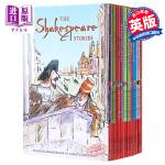 【中商原版】莎士比亚全集16册套装 英文原版 Shakespeare Childrens Stories 16 Boo