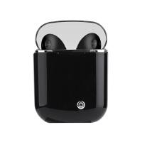 无线蓝牙耳机 华为蓝牙耳机p20 p10 mate9 荣耀无线双耳挂耳塞式通用型 炫酷黑 送充电仓 官方标配