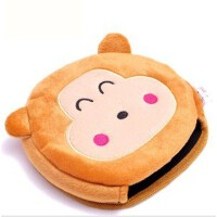 暖手鼠标垫 保暖鼠标垫 可爱加热发热 USB暖手鼠标垫 顽皮小猴