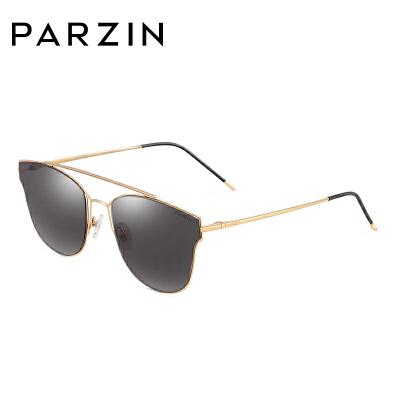 帕森太阳镜时尚尼龙金属个性大框墨镜女士经典款潮人眼镜8172 摩登复古风情 体验不一样的镜彩